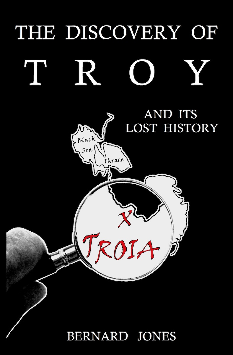 TROJAN HISTORY by Bernard Jones | The Voyage of Aeneas of Troy | Trojan History Books - Trojan War Books | Troy Books